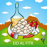 Eid, adha, al, ul, sheep, bakra, goat, fitr, mubarak, muslim, Royalty Free Stock Photography