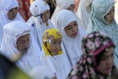 Eid al Adha-Gebete Stockbild