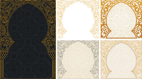 Eid al Adha greetings backgrounds set Stock Images