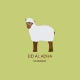 Eid al Adha Mubarak Card Photos stock