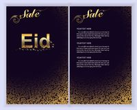 Eid Al Adha Mubarak the celebration of Muslim community. Eid Al Adha Mubarak greeting card.Vector illustration stock illustration