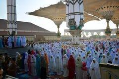 Eid Al-Adha Prayer Lizenzfreie Stockfotografie