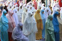 Eid al-Adha prayers Royalty Free Stock Photos