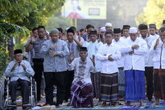 Eid al Adha prayers Stock Images