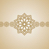 Eid arabic islamic art design Stock Image