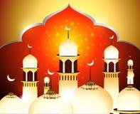 Eid Background de oro Fotografía de archivo libre de regalías