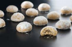 Eid Cookies Bakery, Moslem Lesser Holiday Snacks Lizenzfreie Stockfotografie