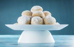 Eid Cookies, Moslem Lesser Holiday Breakfast Snacks Stockfotos