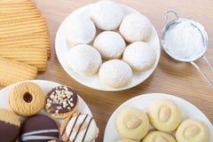 Eid El Fitr Cookies Stock Photography