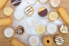 Eid El Fitr Cookies Stock Images