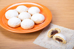 Eid El Fitr Kahk. Eid El Fitr Cookies - Dates , Lantern , and Kahk El Eid Royalty Free Stock Photos