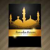 Eid festival template Royalty Free Stock Photo