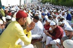 Eid Gebet lizenzfreie stockfotos
