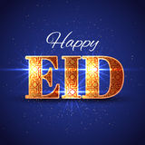 Eid Islamic Greeting Background heureux Images libres de droits