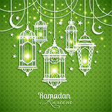 Eid Mibarac abstract vector background Stock Images