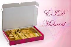 Eid Mubarak Lizenzfreies Stockbild
