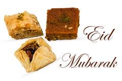 Eid Mubarak Fotografía de archivo