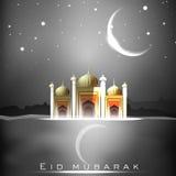Eid Mubarak background. Royalty Free Stock Images