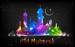 Eid Mubarak Background Royalty Free Stock Photography
