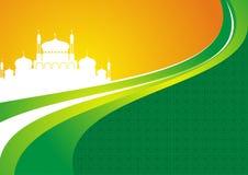 2015 Eid Mubarak Background Stock Photography