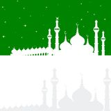 Eid Mubarak ( Blessing for Eid) background Stock Images