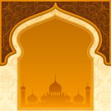 Eid Mubarak ( Blessing for Eid) background Royalty Free Stock Photos