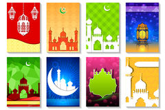 Eid Mubarak ( Blessing for Eid) background Royalty Free Stock Image