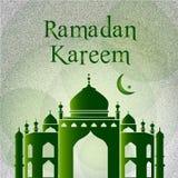 Eid Mubarak Card Royalty-vrije Stock Afbeeldingen