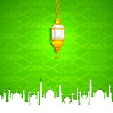 Eid Mubarak (Happy Eid) background Stock Photography