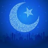 Eid Mubarak (Happy Eid) background Royalty Free Stock Images