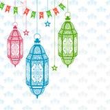 Eid Mubarak (Happy Eid) background Stock Photo
