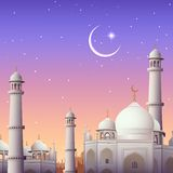 Eid Mubarak (Happy Eid) background Royalty Free Stock Images