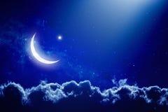 Eid Mubarak Hintergrund Lizenzfreies Stockbild