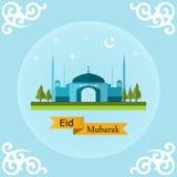 Eid Mubarak Landscape Fotografia de Stock