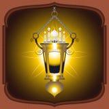 Eid Mubarak Lantern Royalty Free Stock Image