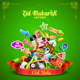 Eid Mubarak offer Stock Photo