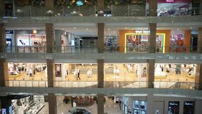 Eid-Rabatt vor Eid al-Fitr in Hartono-Mall Yogyakarta stockbild