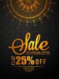 Eid Sale Flyer or Sale Banner. Stock Photo