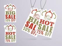 Eid Sale Tags o etichette Fotografie Stock