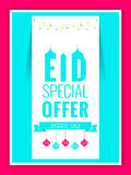 Eid Special Offer Abstract Fotografia Stock