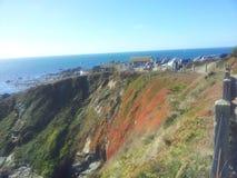 Eidechsen-Punkt, Cornwall Stockfotografie