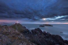 Eidechsen-Punkt Cornwall Lizenzfreies Stockfoto