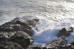 Eidechsenpunkt St. Ives Stockfoto