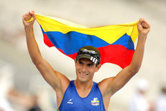 Eidereend Arevalo van Colombia Royalty-vrije Stock Fotografie