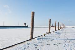 Eidersperrwerk Stock Images