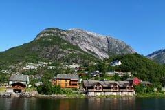 Eidfjord royalty-vrije stock foto's