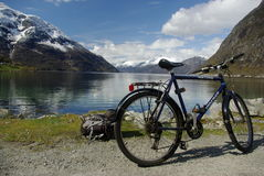 Eidfjord Photo libre de droits