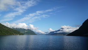 The Eidfjord Area. In Norway Royalty Free Stock Photo