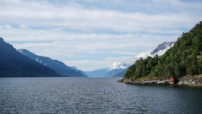 The Eidfjord Area. In Norway Royalty Free Stock Photography