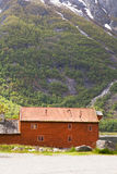 Eidfjord Cabin, Norway Stock Images